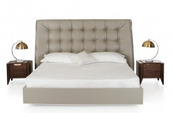 Codex Grey Leatherette Bed Available Online in Dallas Fort Worth Texas