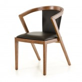 Gregor Black & Walnut Dining Chair Available Online in Dallas Fort Worth Texas