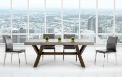 VIG Modrest Urban Concrete Dining Table Available Online in Dallas Fort Worth Texas