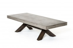 VIG Urban Concrete Coffee Table Available Online in Dallas Fort Worth Texas
