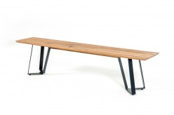 Nova Domus Pisa Drift Oak Dining Bench Available Online in Dallas Fort Worth Texas
