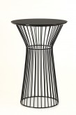 Graph Black Round Bar Table Available Online in Dallas Fort Worth Texas