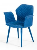 VIG Astoria Blue Fabric Dining ... Available Online in Dallas Fort Worth Texas