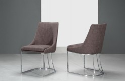 Itasca Grey Fabric Dining Chair Available Online in Dallas Fort Worth Texas