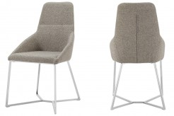 Stark Light Grey Fabric Dining Chair Available Online in Dallas Fort Worth Texas