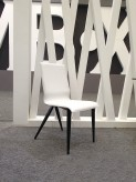 Exxo White & Black Dining Chair Available Online in Dallas Fort Worth Texas