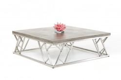 VIG Scape Concrete Coffee Table Available Online in Dallas Fort Worth Texas