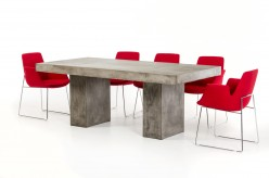 VIG Saber Concrete Dining Table Available Online in Dallas Fort Worth Texas