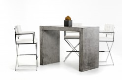 VIG Mcgee Concrete Bar Table Available Online in Dallas Fort Worth Texas