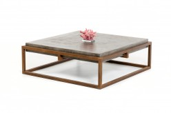 VIG Shepard Concrete Coffee Table Available Online in Dallas Fort Worth Texas