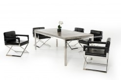 VIG Retna Concrete Dining Table Available Online in Dallas Fort Worth Texas