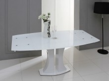 VIG Modrest Split White Extendable Dining Table Available Online in Dallas Fort Worth Texas
