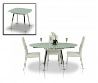 VIG Modrest Brunch White Extendable Dining Table Available Online in Dallas Fort Worth Texas