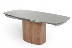 VIG Modrest Swing Grey Walnut Veneer Dining Table Available Online in Dallas Fort Worth Texas