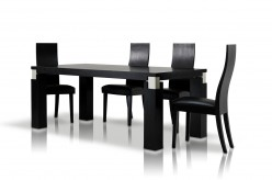 VIG Modrest Escape Black Oak Dining Table Available Online in Dallas Fort Worth Texas