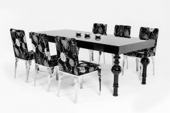 VIG Modrest Nayri Black High Gloss Dining Table Available Online in Dallas Fort Worth Texas