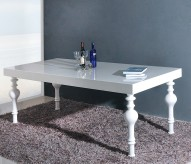 VIG Modrest Nayri White Rectangular High Gloss Dining Table Available Online in Dallas Fort Worth Texas