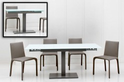 VIG Modrest Taste Extendable Grey Dining Table Available Online in Dallas Fort Worth Texas
