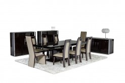 VIG Modrest Noble Lacquer Dining Table Available Online in Dallas Fort Worth Texas