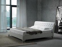 San Remo Leatherette Modern Bed Available Online in Dallas Fort Worth Texas