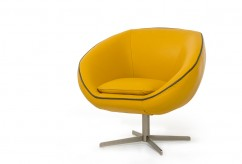 VIG Divani Casa Willow Yellow E... Available Online in Dallas Fort Worth Texas