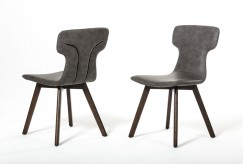 Zach Dark Grey Eco-leather Dining Chair Available Online in Dallas Fort Worth Texas