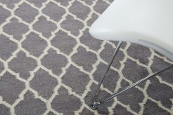 Linie Design Adelyn Grey Wool Rug Available Online in Dallas Fort Worth Texas