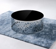 VIG Zircon Black Glass Top Coff... Available Online in Dallas Fort Worth Texas