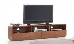 VIG Jett Walnut TV Stand Available Online in Dallas Fort Worth Texas