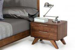 Nova Domus Soria Walnut Nightstand Available Online in Dallas Fort Worth Texas