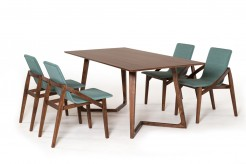 VIG Jett Walnut Dining Table Available Online in Dallas Fort Worth Texas