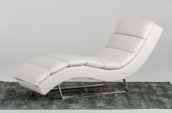 VIG Divani Casa Trance White Le... Available Online in Dallas Fort Worth Texas