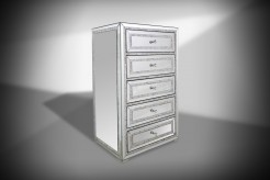Mirabelle Mirrored Chest Available Online in Dallas Fort Worth Texas