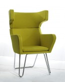 VIG Anser Green Fabric Lounge C... Available Online in Dallas Fort Worth Texas