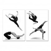 VIG Dancers 2-Panel Photo On Ca... Available Online in Dallas Fort Worth Texas