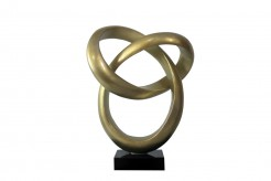 Halo Gold Sculpture Available Online in Dallas Fort Worth Texas