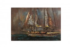 Pinnace Boat Painting Available Online in Dallas Fort Worth Texas
