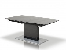 VIG A&X Centro Black Crocodile Dining Table Available Online in Dallas Fort Worth Texas