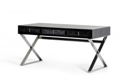 VIG Congress Black Crocodile Desk Available Online in Dallas Fort Worth Texas