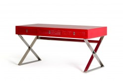 VIG Congress Red Crocodile Desk Available Online in Dallas Fort Worth Texas