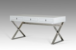 VIG Congress White Crocodile Desk Available Online in Dallas Fort Worth Texas