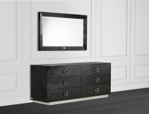 Victoria Black Crocodile Dresser Available Online in Dallas Fort Worth Texas
