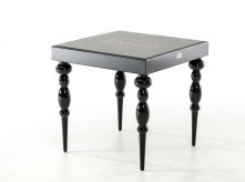 VIG Saure Black Gloss End Table Available Online in Dallas Fort Worth Texas