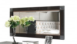 A&X Bellagio Pearl Wood Rectangular Mirror Available Online in Dallas Fort Worth Texas