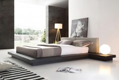 Opal Wenge & Grey Platform Bed Available Online in Dallas Fort Worth Texas