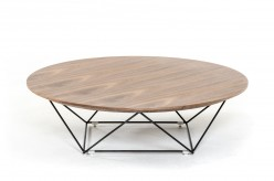 VIG Spoke Walnut Coffee Table Available Online in Dallas Fort Worth Texas