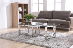 VIG Valiant Glass Coffee Table Available Online in Dallas Fort Worth Texas