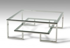 VIG Topaz Glass Coffee Table Available Online in Dallas Fort Worth Texas