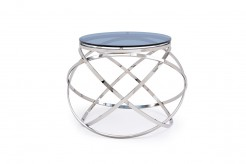 VIG Tulare Smoked Glass End Table Available Online in Dallas Fort Worth Texas