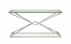 VIG Xander Glass Console Table Available Online in Dallas Fort Worth Texas